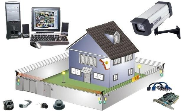 Instalação de Alarme, CFTV e Cercas Elétricas